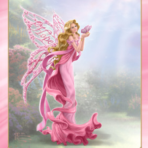 Breast Cancer Awareness - Wings of Hope Angel