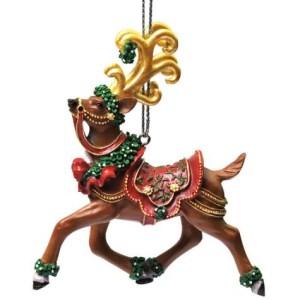 mistle doe ornament